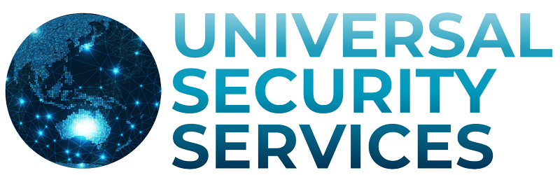 universal security services logo